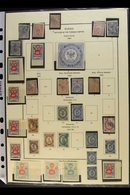 RUSSIAN POST OFFICES IN THE TURKISH LEVANT  1863-90 Valuable And Attractive Collection On Pages, Cat SG £4300+ Including - Russia & USSR