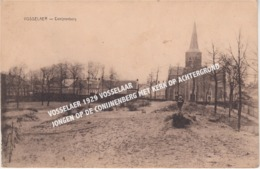 VOSSELAER 1929 VOSSELAAR / JONGEN OP DE CONIJNENBERG MET KERK OP ACHTERGROND - Vosselaar