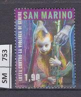 SAN MARINO  2014Lotta Contro La Violenza, 1,90 Usato - San Marino