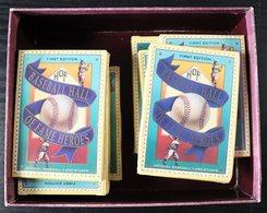 1992  BASEBALL HALL OF FAME HEROES Stamp Card Set (Scott 1693/1704) - TEN Sealed And Unopened Packs. Cat $360. (10 Sets) - St.Vincent (...-1979)