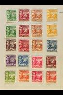 1886-1946 FINE MINT  Collection On Miniature Album Leaves. With Nice Range Of 19th Century Values; 1914-15 Set; 1914-24  - Samoa