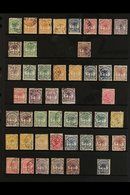 1886-1949 FINE USED POSTAL ISSUES COLLECTION.  A Chiefly, ALL DIFFERENT Used Collection With A Good Range Of Sets & Earl - Samoa