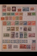 1870's - 1980's ALL DIFFERENT COLLECTION.  A Most Useful,ALL DIFFERENT Mint & Used Collection, Presented On Printed Pag - San Marino