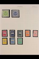 RAILWAY COMPANY STAMPS  High Quality ALL DIFFERENT Collection In An Album, Mint And Used, Mostly Never Hinged Mint. With - Sweden