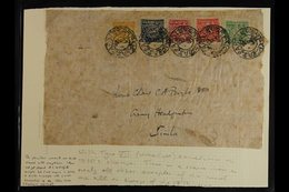 1933 - 60  1930s Period Large Part Outer Wrapper Addressed To Lt Col CA Boyle, Army Headquarters, Simla And Franked With - Tibet