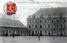 Cpa(59)--lille - 1er Escadron Du Train Des Equipages Militaires - Quartier Saint-ruth(intèrieur) - Lille
