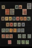 1920-47 FINE USED COLLECTION  Presented On Stock Pages With Shade & Postmark Interest That Includes 1920 P14 2pi, 1922 2 - Jordan