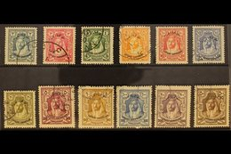 "1930 LOCUST CAMPAIGN  Emir ""Locust Campaign"" Overprinted Set, SG 183/94, Fine Used (12 Stamps) For More Images, Please V - Jordan"