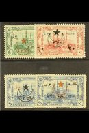 """POSTAGE DUES  1916 Adianople Issue Set Complete, Ovptd """"1332"""". SG 745/8, Very Fine Mint. (4 Stamps) For More Images, Pl - Turkey"""