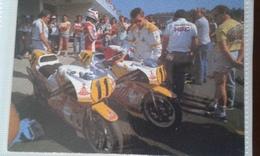 Ancienne Carte Postale Moto Motorcycle Course Races Gp Grand Prix Endurance - Motorbikes