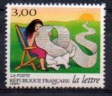 """France 1997 : Extrait De La Bande B3065A """" Le Voyage D'une Lettre """" Y&T** N° 3065  : Sa Longue Et Captivante Lecture - Unused Stamps"""