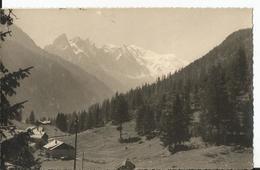 Photo - Le Mont Blanc - Vu Depuis Le Col Des Montets En 1945 - 74 - Haute Savoie - Luoghi