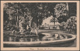 Fontana Del Mose, Roma, 1936 - Enrico Verdesi Cartolina - Parks & Gardens