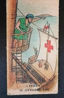 Cristoforo Colombo Terra Giuseppe Grasso Genova  Biglietto Ticket Bilancia Pesapersone Cartonato Weight Balance - Collezioni