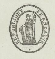 Avignon An 8 – 18.6.1800 - Signature Du  Préfet Pelet Secrétaire Général Jean  Empreinte Du  Sceau  Héraldique - Historical Documents