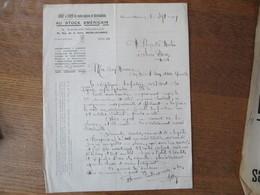 NOEUX-LES-MINES A. LEROY-MERLIN AU STOCK AMERICAIN 79 RUE DE LA GARE COURRIER DU 10 SEPTEMBRE 1924 - 1900 – 1949