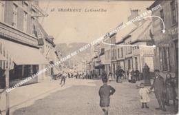 GERAARDSBERGEN GRAMMONT 1919 LA GRAND RUE / ESTAMINET F HOOGSTOEL DISTILLERIE DE LA POSTE - Geraardsbergen