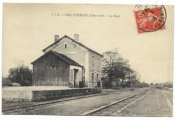 16-HIERSAC-La Gare...  Animé - Autres Communes