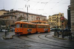 Rome (Italie)  Tramway De Rome  - 04/2004 - Ligne 2 – Piazzale Flaminio  Rame TAS - 2eme Série N°7023 (1948) - Transports