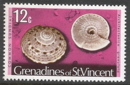 Grenadines Of St Vincent. 1974 Shells And Molluscs. 12c MH. SG 43A - St.Vincent & Grenadines