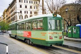 Rome (Italie)  Tramway De Rome  - 04/2004 - Ligne 2 – Piazza Del Risorgimento - Rame TAS - 2eme Série N°7091 (1949) - Tranvía