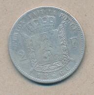 België/Belgique 2 Fr Leopold II 1866 Fr Morin 168 (160613) - 08. 2 Francos