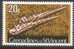 Grenadines Of St Vincent. 1974 Shells And Molluscs. 20c MH. (No Date Imprint) SG 45B - St.Vincent & Grenadines