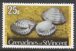 Grenadines Of St Vincent. 1974 Shells And Molluscs. 25c MH. SG 46A - St.Vincent & Grenadines