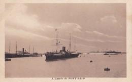 AN53 L'Entree De Port Said - Ships - Port Said