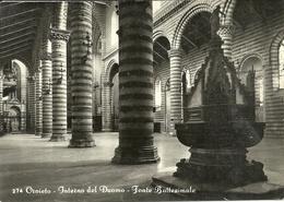 Orvieto (Terni) Duomo, Interno, Fonte Battesimale, Cathedral, Interior, Baptismal Font - Terni