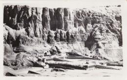 AN55 Thebes, General View Of Deir-El-Bahari, Temple Of Queen Hatshepset - RPPC - Egypt