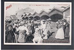 Congo Français Le Marche A Brazzaville Ca 1910 Old Postcard - Brazzaville
