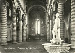 Orvieto (Terni) Duomo, Interno, Acquasantiera, Cathedral, Interior, The Font - Terni
