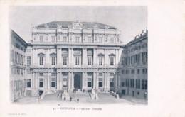 AP07 Genova, Palazzo Ducale - Undivided Back Postcard - Genova (Genoa)