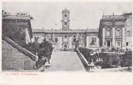 AP07 Roma, Il Campidoglio - Undivided Back Postcard - Roma (Rome)