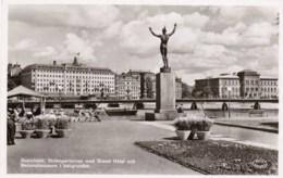 AL26 Stockholm, Stromparterren Med Grand Hotel Och Nationalmuseum I Bakgrunden - Sweden
