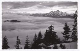 AL26 Blick Vom Rigi Auf Nebelmeer Und Pilatus - RPPC - SZ Schwyz