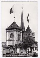 AL26 Geneve, Les Tours De La Cathedrale De St. Pierre - RPPC - GE Geneva