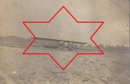Photo Aout 1915 LUNEVILLE - Un Avion Caudron G4 Prenant Son Envol, Aviation (A216, Ww1, Wk 1) - Luneville