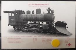 N°35) LES LOCOMOTIVES -(SUEDE) N°121 - Treni