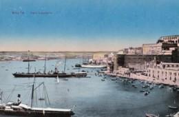 AT06 Malta, Fort Lascaris - Harbour, Boats - Malta