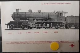 N°36) LES LOCOMOTIVES FRANCAISES -ORLEANS N° 45 - Treni