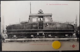 N°37) LES LOCOMOTIVES FRANCAISES -ORLEANS N° 18 - Treni