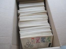 CSSR 1950 - 69 Belegeposten 500 FDC Teils Echt In Die DDR Gelaufen. Einschreiben / Luftpost Auch Zollstempel Celnice - Collections (without Album)