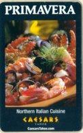 Caesar-s-Lake-Tahoe-Primavera-Cpi-2016038[1084]---key Card, Room Key, Schlusselkarte, Hotelkarte - Chiavi Elettroniche Di Alberghi