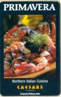 Caesar-s-Lake-Tahoe-Primavera-Cpi-2016038[1084]---key Card, Room Key, Schlusselkarte, Hotelkarte - Cartas De Hotels