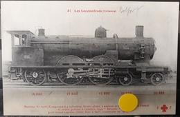 N°40) LES LOCOMOTIVES FRANCAISES -ORLEANS N° 37 - Treni