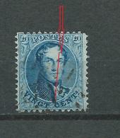 Nr 15 Avec Variété: Grande Griffe De Couleur Traversant Le Visage à Droite ( Griffe 89) - 1863-1864 Médaillons (13/16)