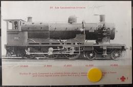 N°41) LES LOCOMOTIVES FRANCAISES -ORLEANS N° 88 - Treni