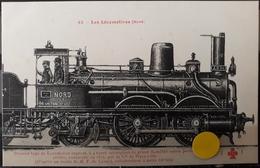 N°43) LES LOCOMOTIVES FRANCAISES -NORD N° 45 - Trains